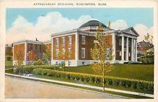 Worcester Massachusetts~Antiquarian Building~Historical Exhibits~Portraits 1929