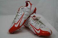 Nike Football Cleats Size 16 Orange And White