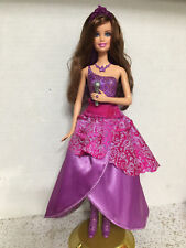 Barbie The Princess And The Popstar Brunette Keira Transforming 2 in 1 Doll Rare