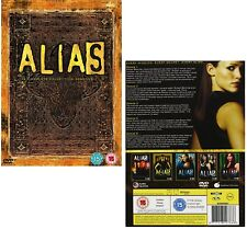 ALIAS 1- 5 (2001-2006) COMPLETE Jennifer Garner TV Seasons Series Rg2 DVD not US