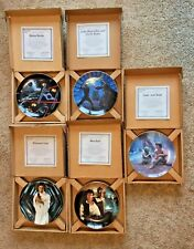Star Wars Hamilton Plate Collection Lot Of 5 (In original boxes w/certificate)