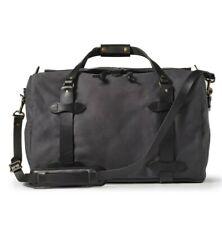 FILSON RUGGED TWILL MEDIUM DUFFLE BAG CINDER 70325 MADE IN USA 43L 20x12x13