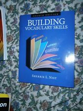 BUILDING VOCABULARY SKILLS, INSTRUCTORS EDITION, FOURTH EDITION, By Sherrie L VG