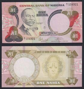 Nigeria 1 naira 1979 (84) FDS-/UNC-  C-05
