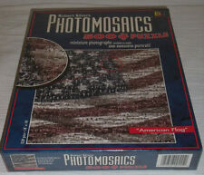 Robert Silvers Photomosaics AMERICAN FLAG 500 Pc Puzzle NEW Sealed Unopened