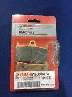 NEW GENUINE YAMAHA BT1100 BULLDOG FRONT CALIPER BRAKE PADS 5SL2580500