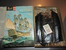 "REVELL ( BOX SCALE 10"")  HMS VICTORY MODEL KIT  # 363-300 ( 1960 ORIGINAL )"