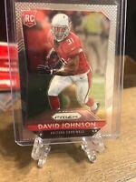 2015 Panini Prizm David Johnson RC Arizona Cardinals Rookie Card