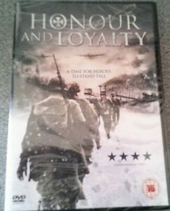 HONOUR AND LOYALTY*DVD*WAR FILM*RATED 15*NEW*SEALED