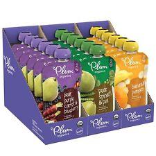 Plum Organics Stage 2,Organic Baby Food Fruit and Veggie Variety Pack