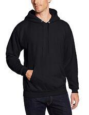 Hanes Men's Pullover EcoSmart Fleece Hoodie, Black, 4X-Large