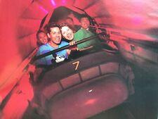 "Obsolete Disneyland TOMORROWLAND SPACE MOUNTAIN rocket sign vintage prop # ""6"""