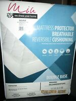 NEW QUILTED MATTRESS PROTECTOR EXTRA DEEP FITTED SHEET DIAMOND MATRESS COVERS