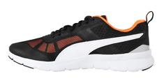 PUMA Flex Essential Mens Running Trainers Black/Orange Sized UK 11US12*REFCRS113