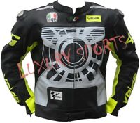 VR 46 Motorcycle Motorbike Leather Racing Moto GP Jacket