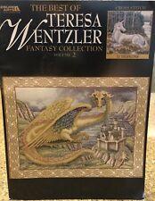 The Best of Teresa Wentzler Fantasy Collection Vol. 2 Cross Stitch Book ~GUC