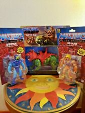 Masters of the Universe  Origins 2020 HE-Man, Skeletor and Battle Cat Bundle