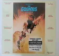 The Goonies Soundtrack LP Sealed Record NEW Cyndi Lauper, more LP 80's music