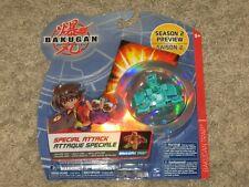Bakugan Battle Brawlers SEASON 2 PREVIEW TRAP Special Spin Master 2008 Sealed