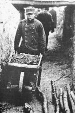 WW1 - Guerre 14/18 - Aménagement d'une tranchée française dans l'Aisne