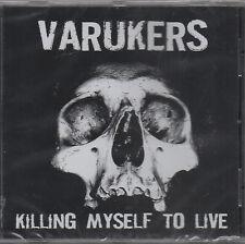 VARUKERS - killing myself to Live CD - COMME NEUF (2009) punk rock