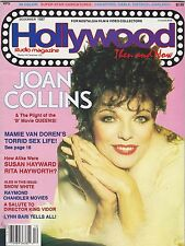 DEC 1987 HOLLYWOOD STUDIO vintage movie magazine JOAN COLLINS