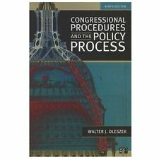 Congressional Procedures and the Policy Process by Oleszek, Walter J.