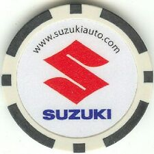 3 pc Suzuki Autos Car poker chips samples set #213
