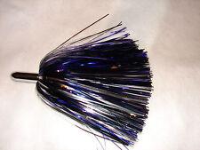 "Mylar Skirt Bullet 6"" Big Game Trolling Saltwater FISHING LURE Mahi Wahoo Blue"
