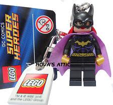 Lego Batgirl Keyring Keychain DC Comics Minifigure