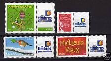 FRANCE  PERSONNALISE N° 3569A,3587A,3621A,3623A, TTB