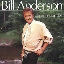 BILL ANDERSON - Lot of Things Different - CD ** Brand New **