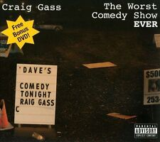 FREE US SHIP. on ANY 3+ CDs! NEW CD Craig Gass: The Worst Comedy Show Ever! [CD/