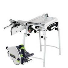 Festool Scie a table CMS-TS 55 R-SET 561566 avec multiples accessoires