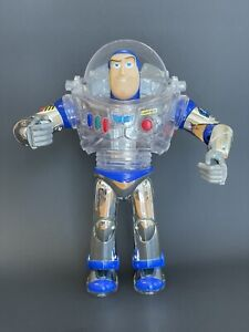 RARE DISNEY TOY STORY AND BEYOND BUZZ LIGHTYEAR SPACE RESCUE TALKING LIGHT UP