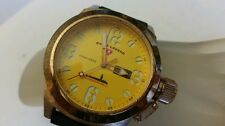 Swiss Legend Men's SUBMERSIBLE 316L YELLOW Dial SWISS MOVT. WATCH 110006810