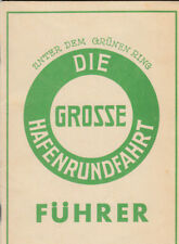 grosse Hafen Rundfahrt Führer Hamburg 1936  (AGF2036)