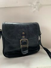 a7d2634f77f Women's Leather Vintage Daniel Ray Small Black Shoulder Bag