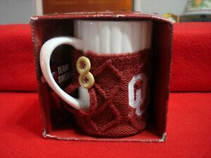 FOCO NCAA Auburn Cable Knit Sweater Mug