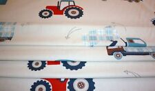 Made to Measure Laura Ashley Tractors and Trucks Roman Blind