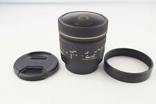 Sigma EX DG 8mm 1:3.5 Fisheye Canon Mount # 5542