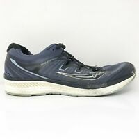 Saucony Mens Triumph ISO 4 S20413-1 Navy Black Running Shoes Lace Up Size 10