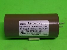 Aerovox ACH277 Replacement Hid Lighting Capacitor 15 uf, 400 V, 50/60 Hz