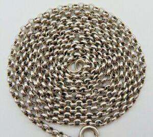 Tolle 835 Silber Erbskette-Halskette (3w2t)
