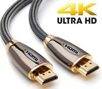 PREMIUM HDMI Cable v2.0 0.5M/1M/1.5M/2M-5M High Speed 4K UltraHD 2160p 3D Lead
