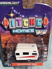 Greenlight  Hitched Homes  1959 Siesta  travel Trailer Camper.