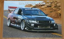 2014 David Kern Mitsubishi Lancer Evolution IX Time Attack PPIHC postcard