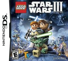 Lego Star Wars III: The Clone Wars - Nintendo DS Game