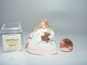 Artisan Dollhouse Miniature doll by Ethel Hicks Angel Children KATHLEEN #902