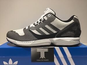 "Adidas ZX Flux Weave ""Super Rare Colour""~ Oreo B34897 ~ Uk Size 12"
